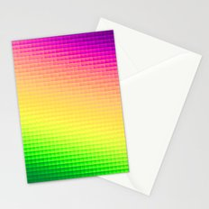 Pixels Stationery Cards