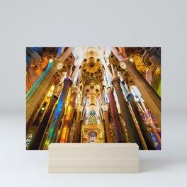 Sagrada Familia Art Work Mini Art Print