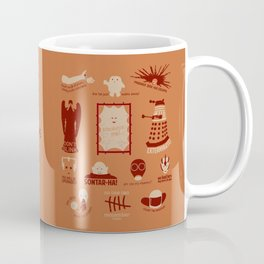 Doctor Who |Aliens & Villains (alternate version) Coffee Mug