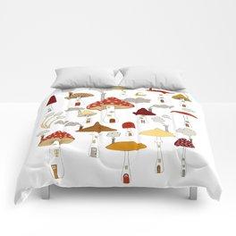 mushroom homes Comforters