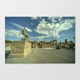 Pompei Centaur Canvas Print