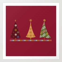 Merry Christmas! Art Print