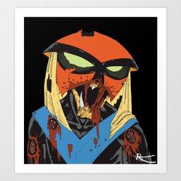 Hey Zombie! Art Print