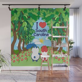 Ernest and Coraline | I love South Carolina Wall Mural