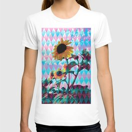 Sunflowers and a bee T-shirt