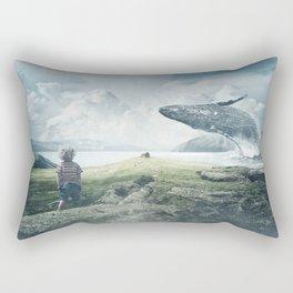 whale Rectangular Pillow