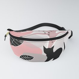 Cat with Tree 2 Fanny Pack