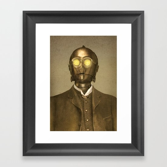 Baron Von Three PO  Framed Art Print