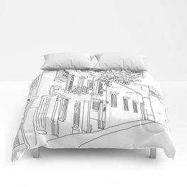 San Miguel de Allende, Guanajuato, Mexico Comforters