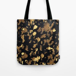Gold rushing Tote Bag