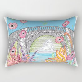 Sabrina in the Dingle Rectangular Pillow
