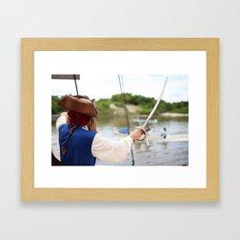 Pirate Series - Hats #1 Framed Art Print