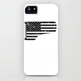 American Flag Grand Piano design iPhone Case