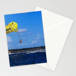 Parasailing in Florida Stationery Cards