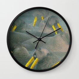 Gold Grillz Wall Clock