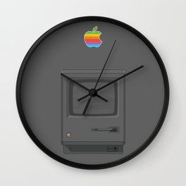 Macintoch Black Wall Clock