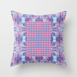 Arabian Nights Folk Pattern Throw Pillow