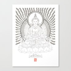 Amitayus - Glorious one who overcomes all untimely death Canvas Print