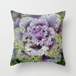 Little Cabbage Throw Pillow