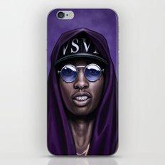 Purple Swag iPhone & iPod Skin