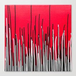 Piano Grass Canvas Print
