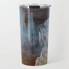 ocean front Travel Mug