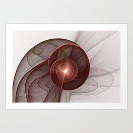Abstract Digital Art, Fantasy Figure Art Print