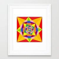 fibonacci Framed Art Prints featuring FIBONACCI  by PlanetLOUDville