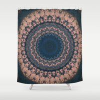 boho Shower Curtains featuring Boho by Jane Lacey Smith