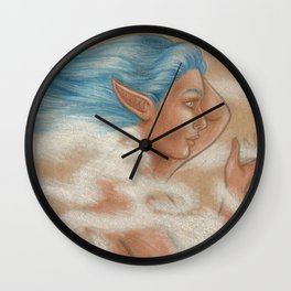 The Wind Goddess Wall Clock