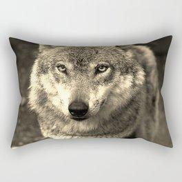 Wolf 215 Rectangular Pillow