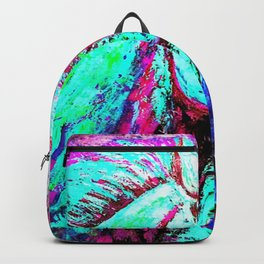 Neon Horse Backpack
