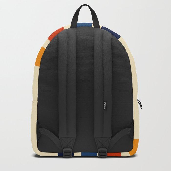 Katahide - Classic Retro Stripes Backpack