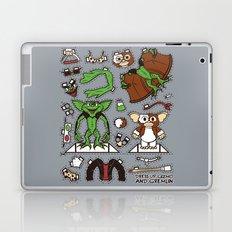 Dress up Gizmo and Gremlin Laptop & iPad Skin