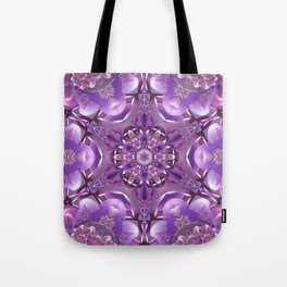 Truth Mandala in Purple, Pink and White Tote Bag