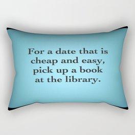 The Library PUA Rectangular Pillow