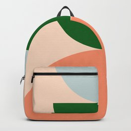 Abstraction_BALANCE_Minimalism_Color_Art_001 Backpack