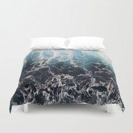 Blue Wave Surf Duvet Cover