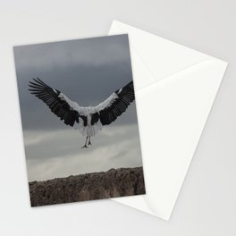 Spread your wings and land Stationery Cards