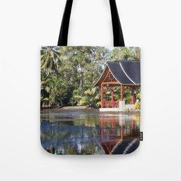 Peaceful Pagoda Tote Bag