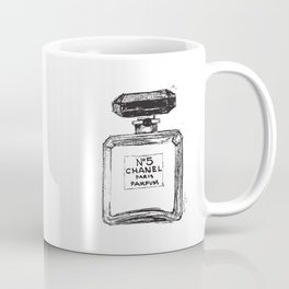 Perfume no.5 illustration  Coffee Mug
