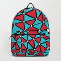 African Triangles Red and Blue by projectm