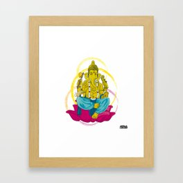 01 - GANESHA Framed Art Print