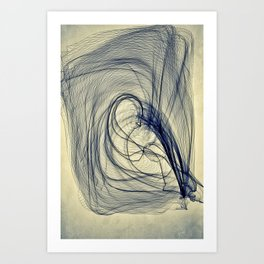 A Web for a Blanket Art Print