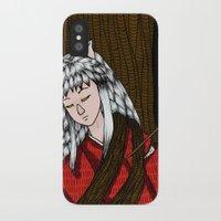 inuyasha iPhone & iPod Cases featuring Inuyasha by nu boniglio