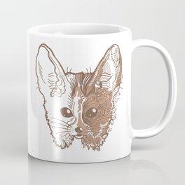 Fennec fox face Coffee Mug