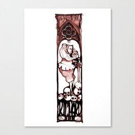 Richard III - Shakespeare Illustration Canvas Print