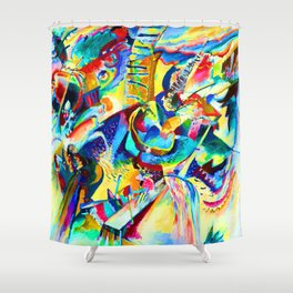 Wassily Kandinsky Improvisation Gorge Shower Curtain