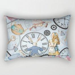 Wonderland Time Rectangular Pillow