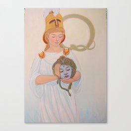 Best Beloved: Athena and Medusa Canvas Print